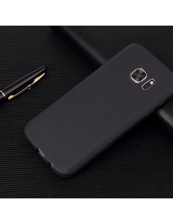 Coque silicone Samsung Galaxy S8  noir antidérapant