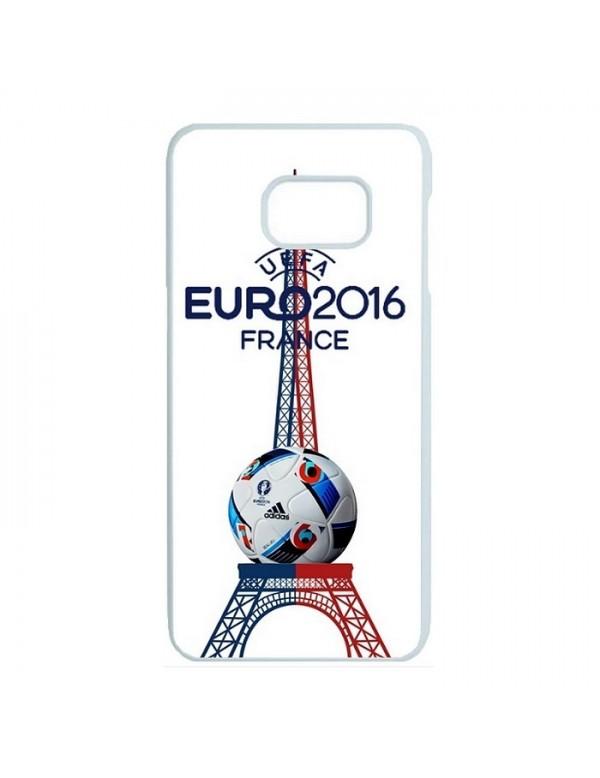 Coque rigide Samsung Galaxy S7 Edge - France tour eiffel euro 2016