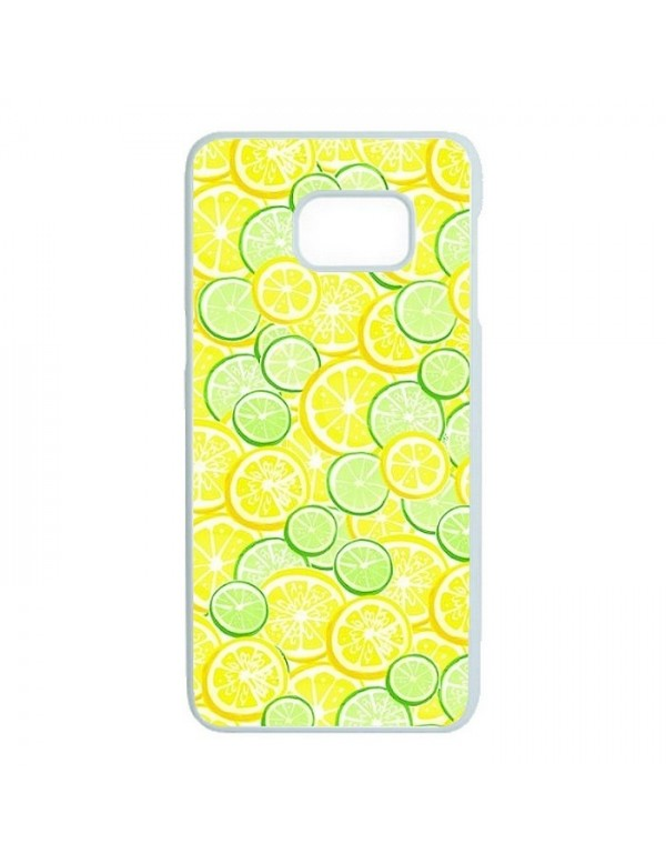 Coque rigide Samsung Galaxy S7 Edge - Citron vert et jaune