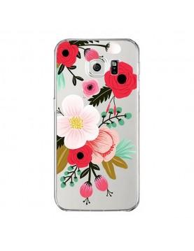 coque-silicone-Samsung-Galaxy S7- Fleurs-de-saison-le-printemps