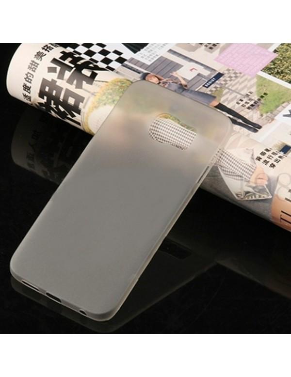 Coque silicone Samsung Galaxy S6 Edge Gris