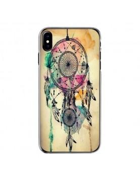 Coque rigide iPhone X/XS - Attrape rêve coloré swag