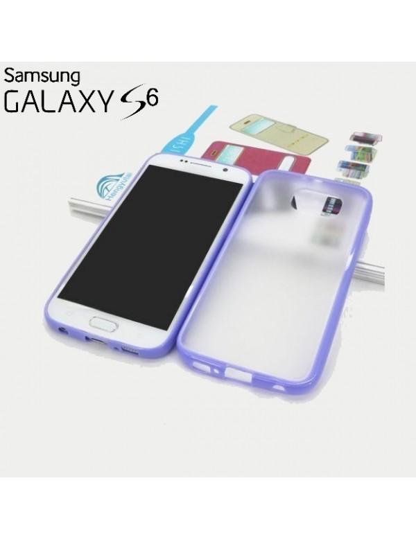 Coque Samsung Galaxy S6 contours Violet