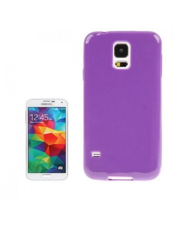 Coque Samsung Galaxy S5 en silicone Violet