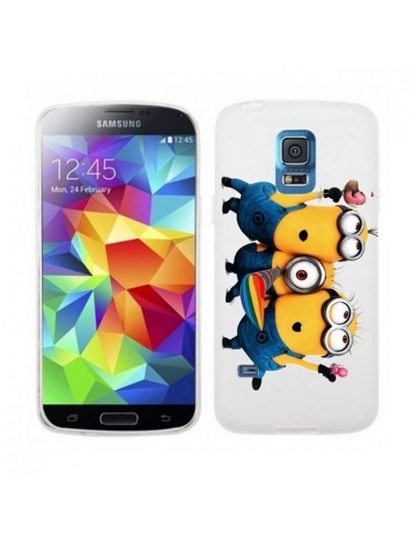 Coque souple les trois minions pour Samsung Galaxy S5