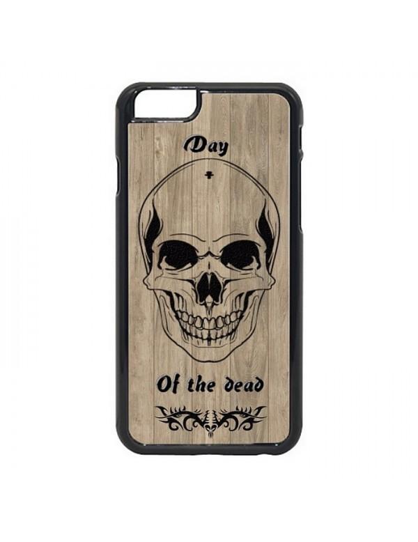 Coque iPhone 7/8 - Tête de mort tribal