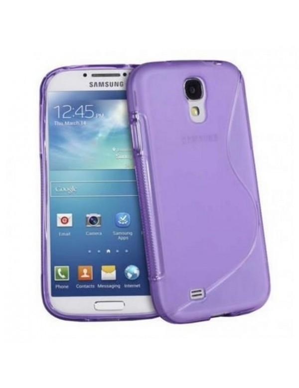 Coque silicone S-LineViolet Samsung Galaxy S4 i9500