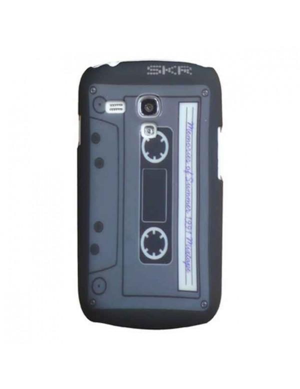 Coque rigide Samsung Galaxy S3 Mini i8190 cassette année 80