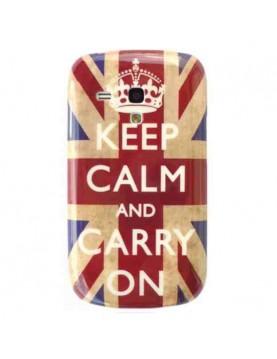 Coque-rigide-Samsung-Galaxy-S3-Mini-Angleterre-Keep-Calm