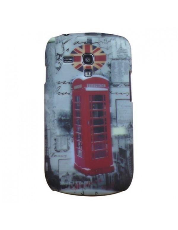 Coque rigide Samsung Galaxy S3 Mini i8190 motif cabine téléphone London