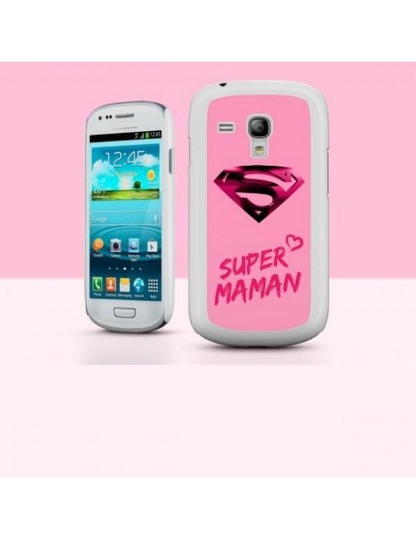 Coque Samsung Galaxy S3 Mini Super Maman