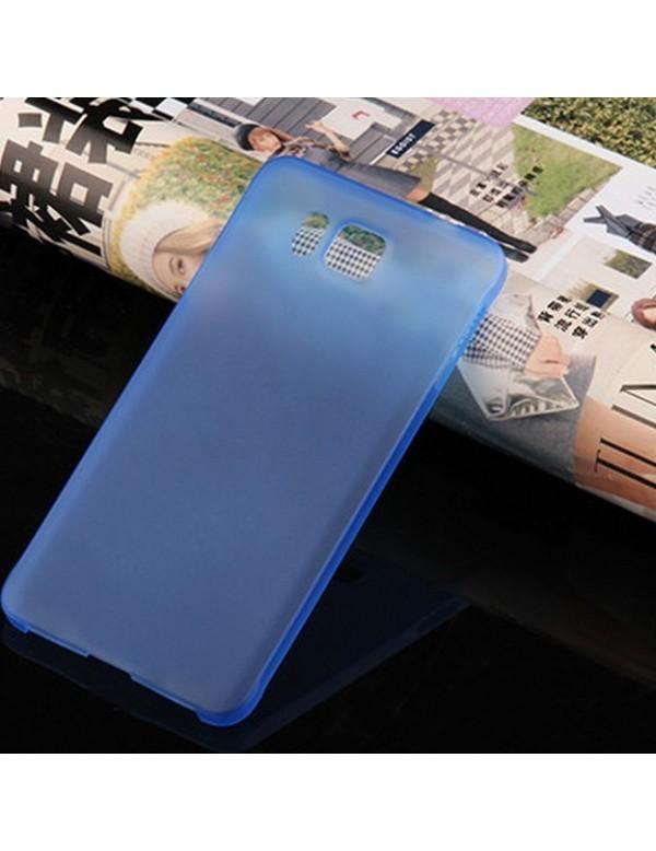 Coque souple Samsung Galaxy Alpha Bleu
