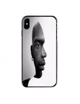 Coque igide iPhone X - Visage face ou profil