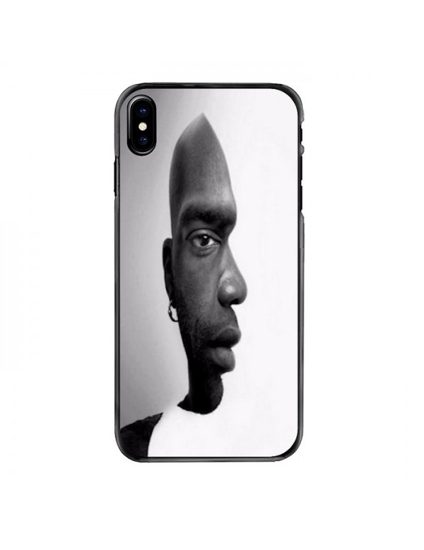 Coque igide iPhone X/XS - Visage face ou profil
