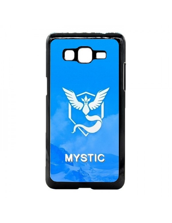 Coque rigide Samsung Galaxy Grand Prime/Grand Prime VE -  Pokemon go team mystic sagesse bleu