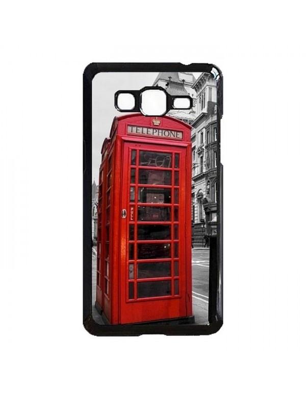 Coque rigide Samsung Galaxy Grand Prime/Grand Prime VE - Londres cabine téléphonique