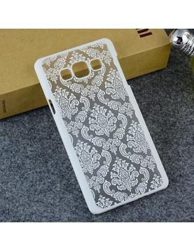 coque-semi-rigide-Samsung-Galaxy-J5-2015-Motif-fleurs-blanches-coque-transparente