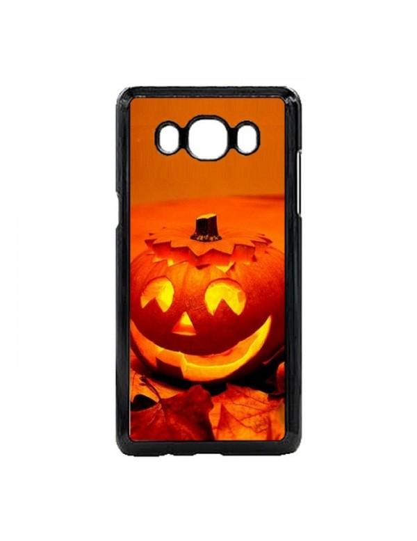"""Coque Samsung Galaxy J5 2015 """"Halloween"""" citrouille orange"""