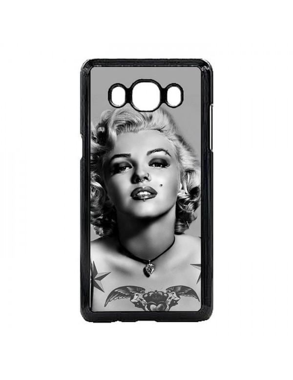 Coque Samsung Galaxy J5 2016 Marylin Monroe Noir et blanc