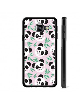 Coque  Panda fond rose pour...