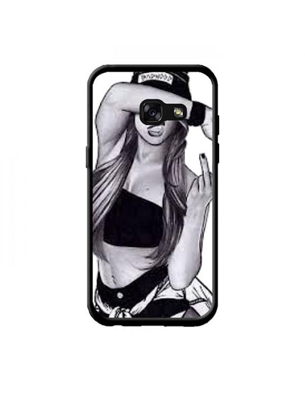 Coque Samsung Galaxy A3 2017 - Dessin fille fuck