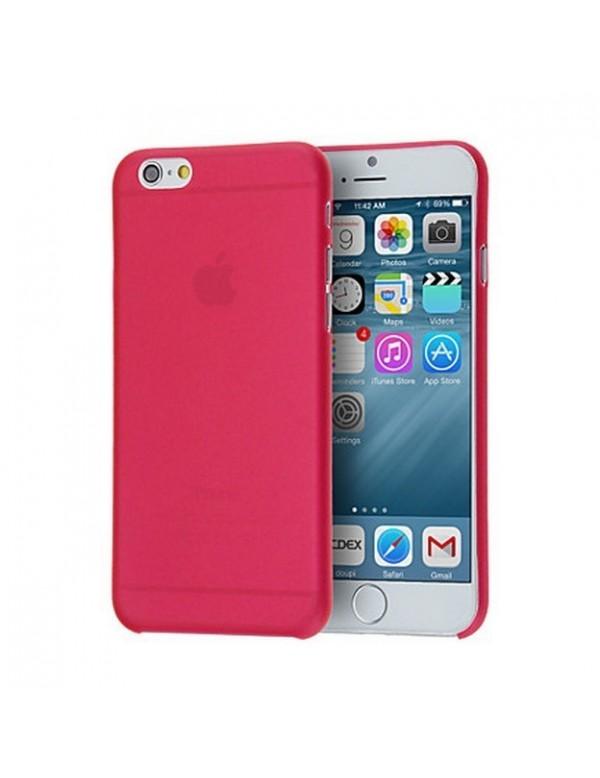 iPhone 7/8 - Coque silicone rouge translucide