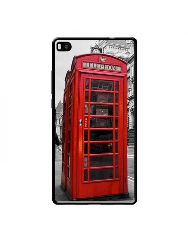 Coque pour Huawei P8 - Londres cabine téléphonique rouge.