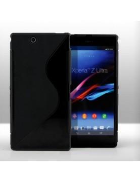 Coque-Sony-Xperia-Z1-Compact-Grip-Flex-Noir