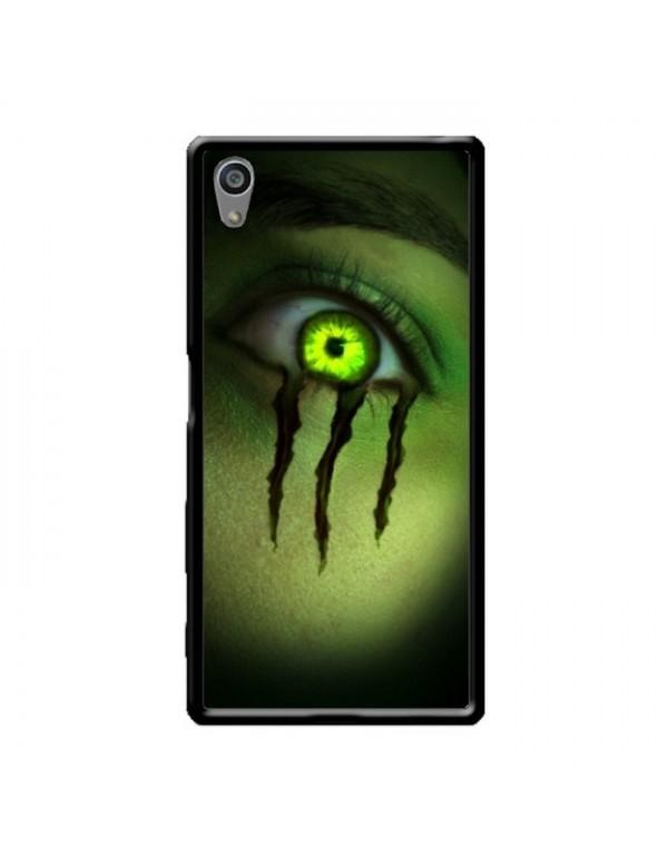 Coque anti-chocs noir pour Sony Xpéria Z5 Oeil Monster