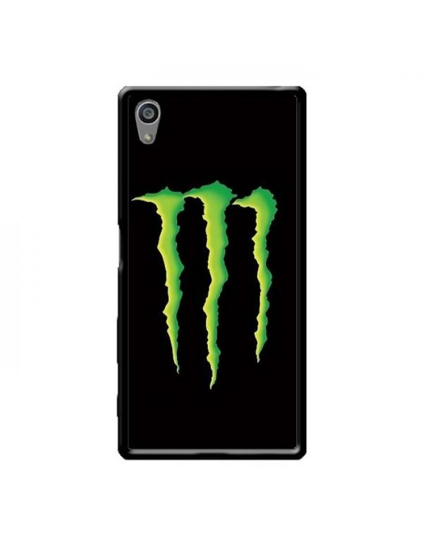 Coque anti-chocs noir pour Sony Xpéria Z5 Griffes Monster