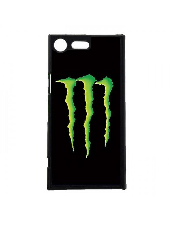 Coque anti-chocs noir pour Sony Xpéria XZ Premium Griffes Monster