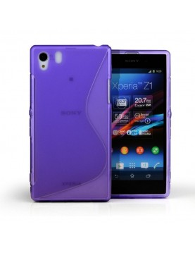 Coque-Sony-Xperia-Z1-Grip-Flex-Color-Violet