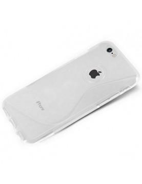 Coque iPhone 6 Plus/6S Plus - Silicone translucide Grip Flex