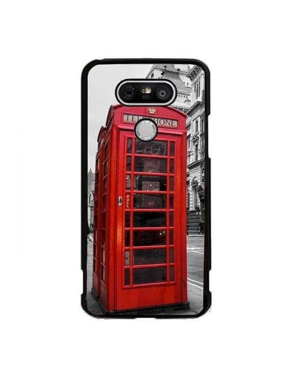 Coque LG G5 - Londres cabine téléphonique rouge.