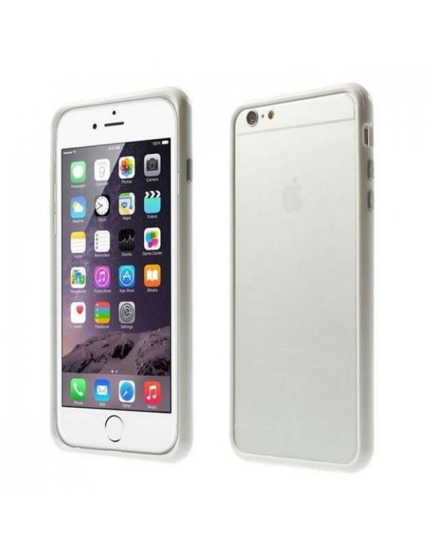 Bumper iPhone 6 Plus/6S Plus - Silicone Blanc