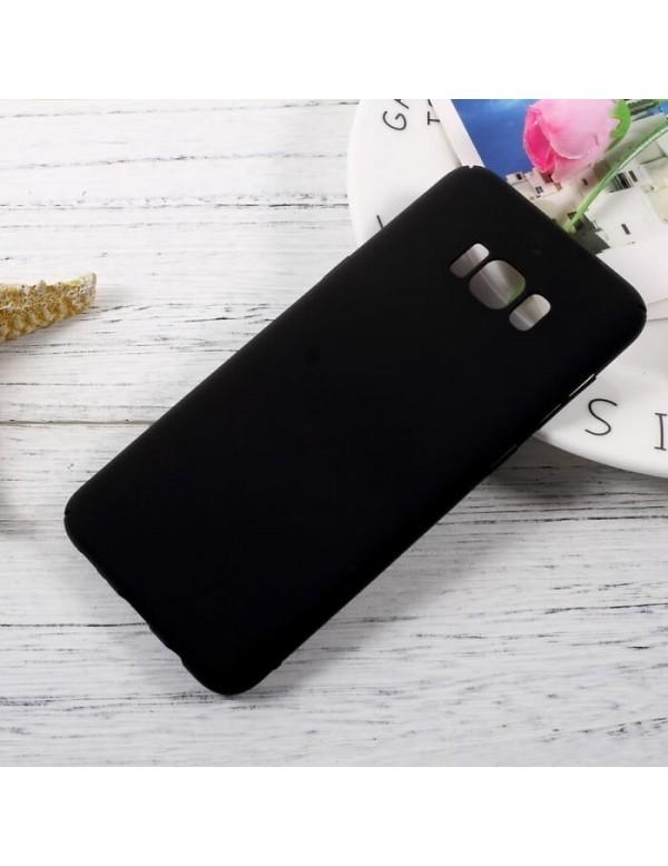 Coque silicone Samsung Galaxy S8 Plus - Noir