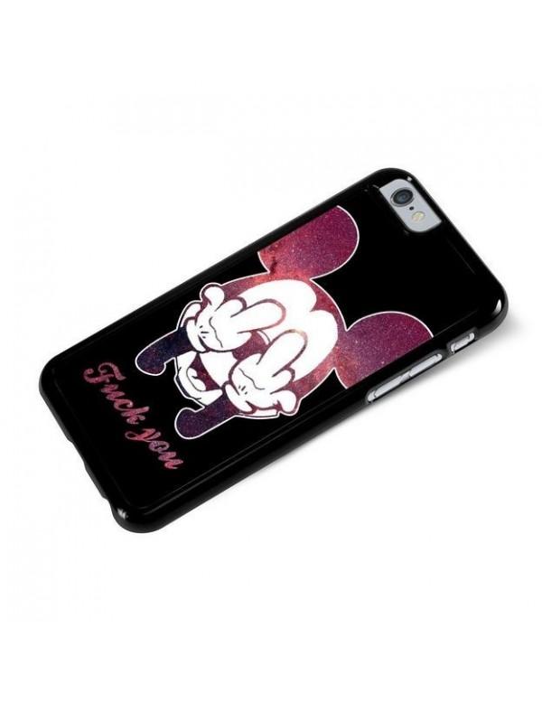 Coque rigide iPhone 6plus 6S plus Fuck you Mickey