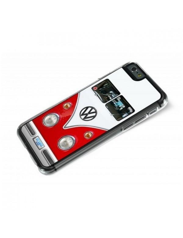 iPhone 6 Plus 6S Plus - Combi Volkswagen Rouge et Blanc