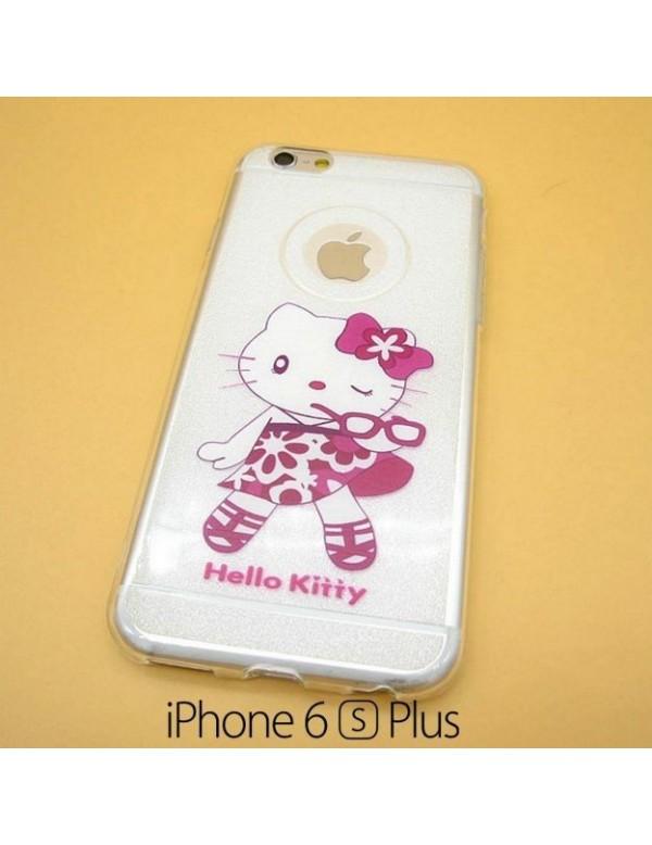 iPhone 6 plus/6S plus - Coque silicone Hello Kitty Fashion
