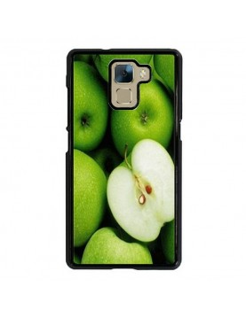coque-rigide-Huawei-Honor-7-pommes-vertes-contours-noirs