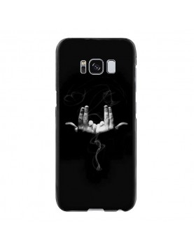 coque-Samsung-Galaxy-S8-Geste-rappeur-Jul-swag