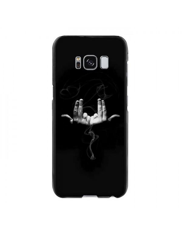 Coque rigide Samsung Galaxy S8 Plus - Geste rappeur Jul