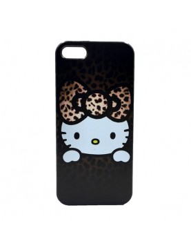 Coque iPhone 6 plus/6S plus Hello Kitty marron