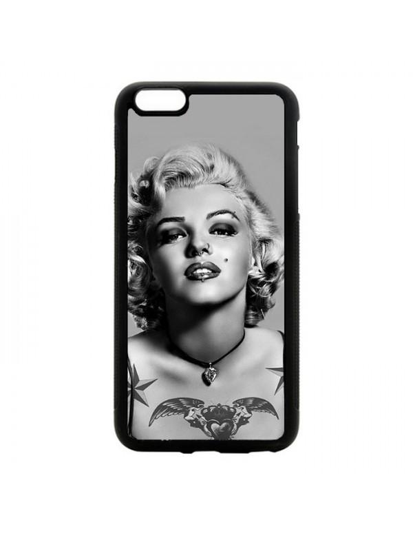 Coque iPhone 6Plus/6S Plus Marylin Monroe Noir et blanc