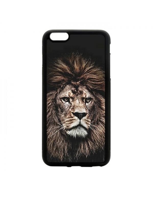 "Coque iPhone 6 Plus 6S Plus 5.5"" The king lion"