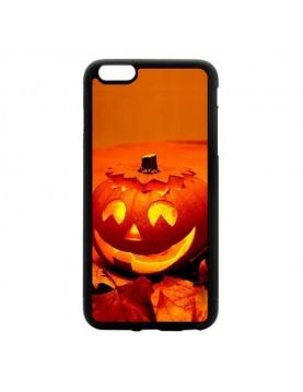 Coque iPhone 6 Plus/6S Plus Halloween citrouille orange