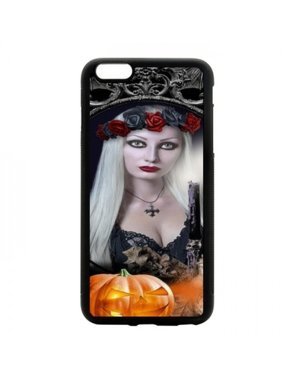 "Coque iPhone 6 PLUS 6S PLUS ""sorcière sexy halloween"""