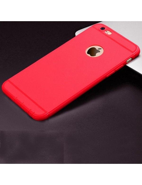 Coque silicone iPhone 6 Plus/6S Plus - Rouge