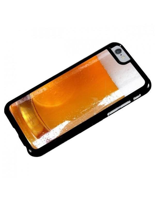 Coque iPhone 6/6S - Motif imitation bière
