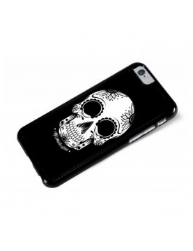 Coque iPhone 6/6S  Flores de la Muerte tête de mort